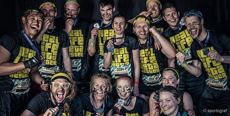 Gruppenfoto Jagi-Bonn beim Team-Event